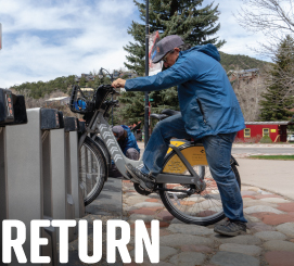 Return your WE-cycle bike