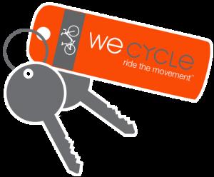 WE-cycle Key Fob