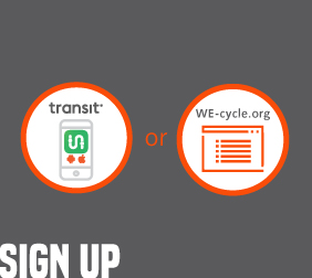 Sign Up WE-cycle