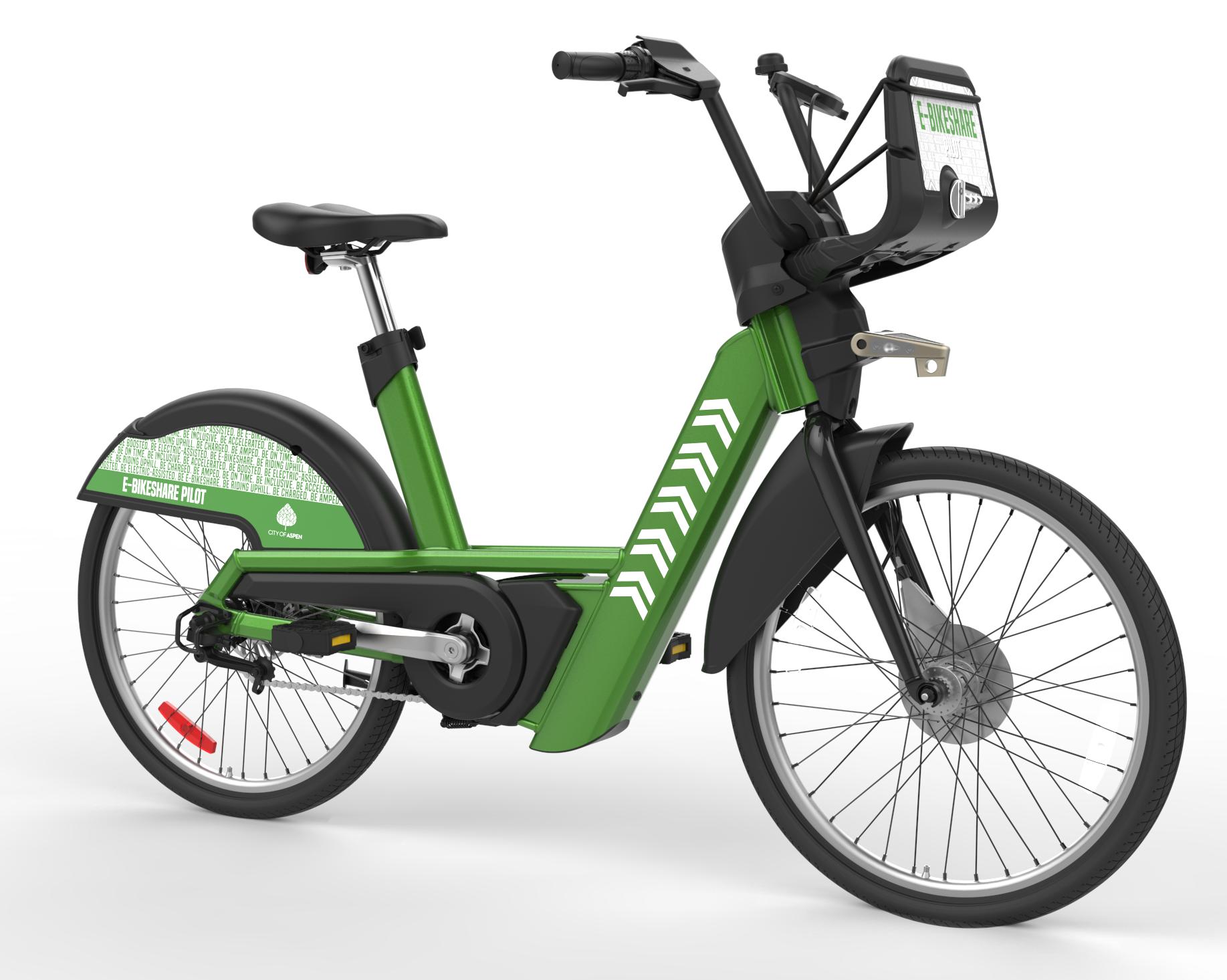 WE-cycle green e-bike