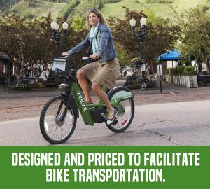 Designed to facilitate bike transportation