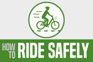 Ride e-bikes safely