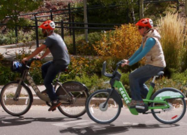 E-bike riders