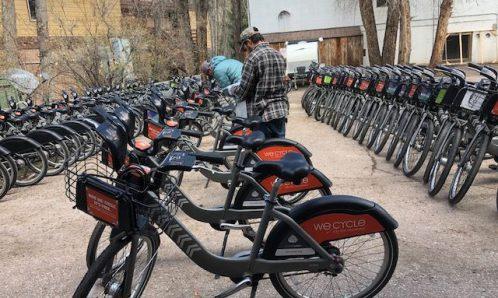 Bikeshare fleet