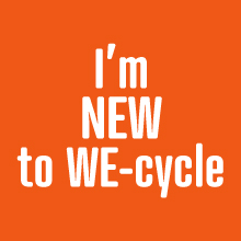 New We-cycle Rider? Click here.