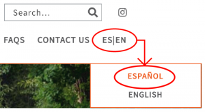 How to translate Signup page