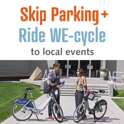 Skip parking and ride WE-cycle