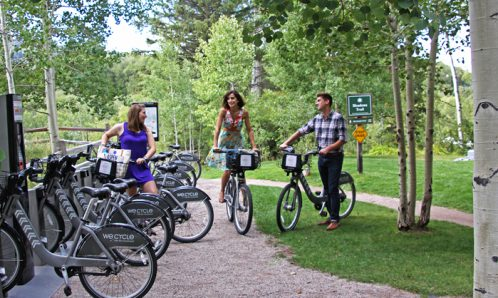Aspen Meadows WE-cycle station
